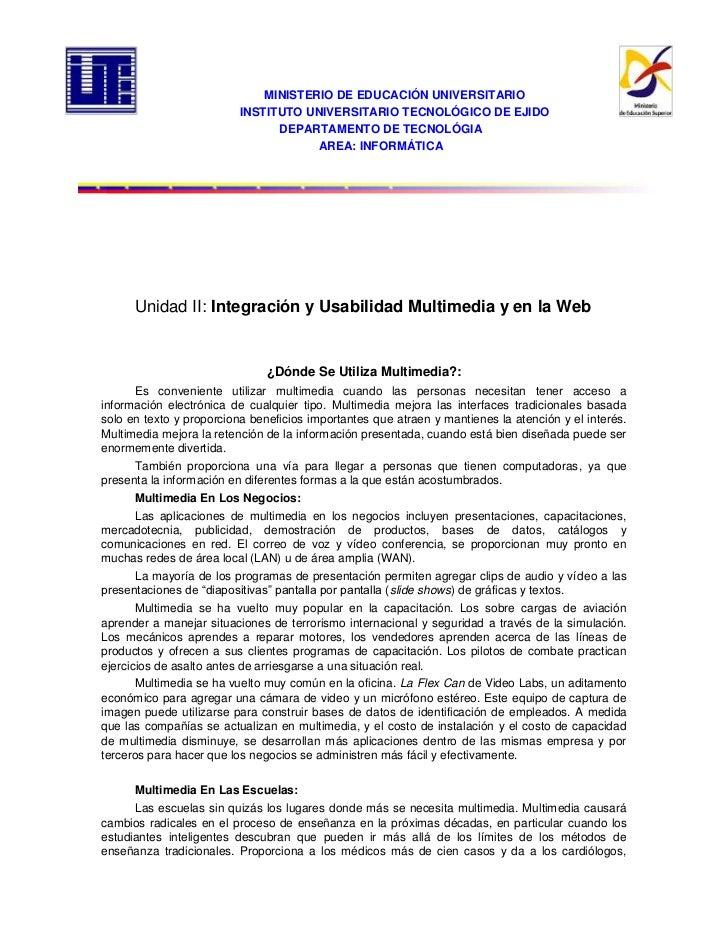 -384810-4044957158355-165735MINISTERIO DE EDUCACIÓN UNIVERSITARIO5530215-414020<br />INSTITUTO UNIVERSITARIO TECNOLÓGICO D...