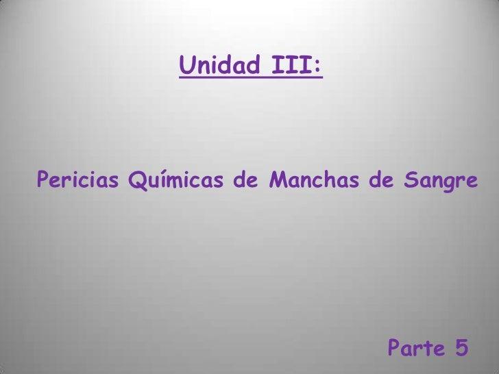Unidad III - 03 04  5º Parte