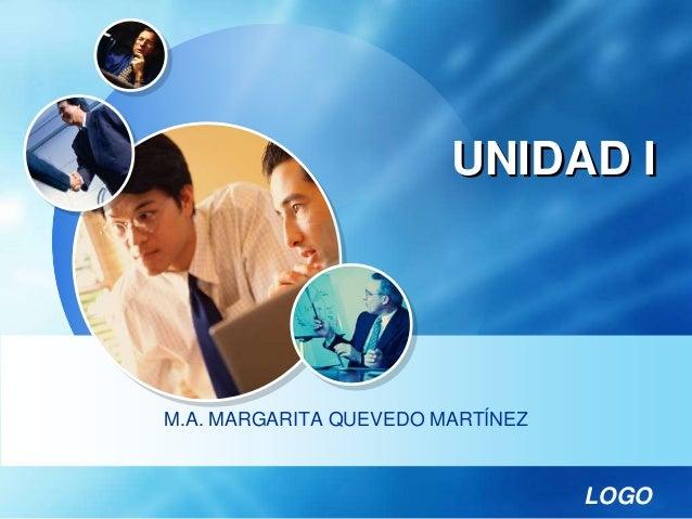 LOGO UNIDAD I M.A. MARGARITA QUEVEDO MARTÍNEZ