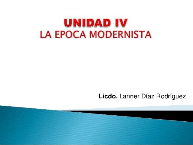 Licdo. Lanner Díaz Rodríguez