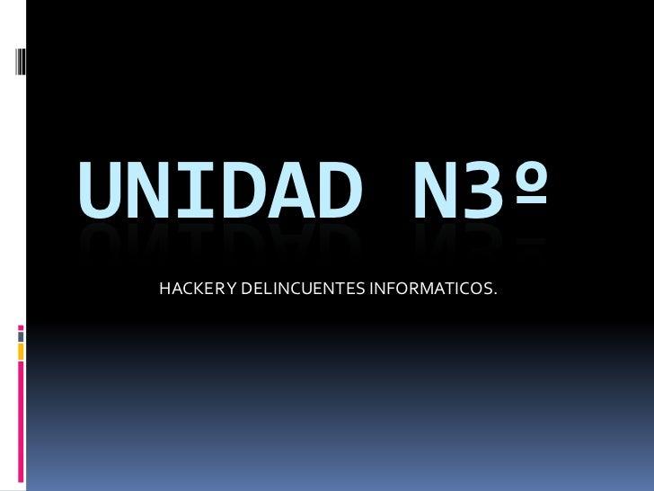 Unidad n3º