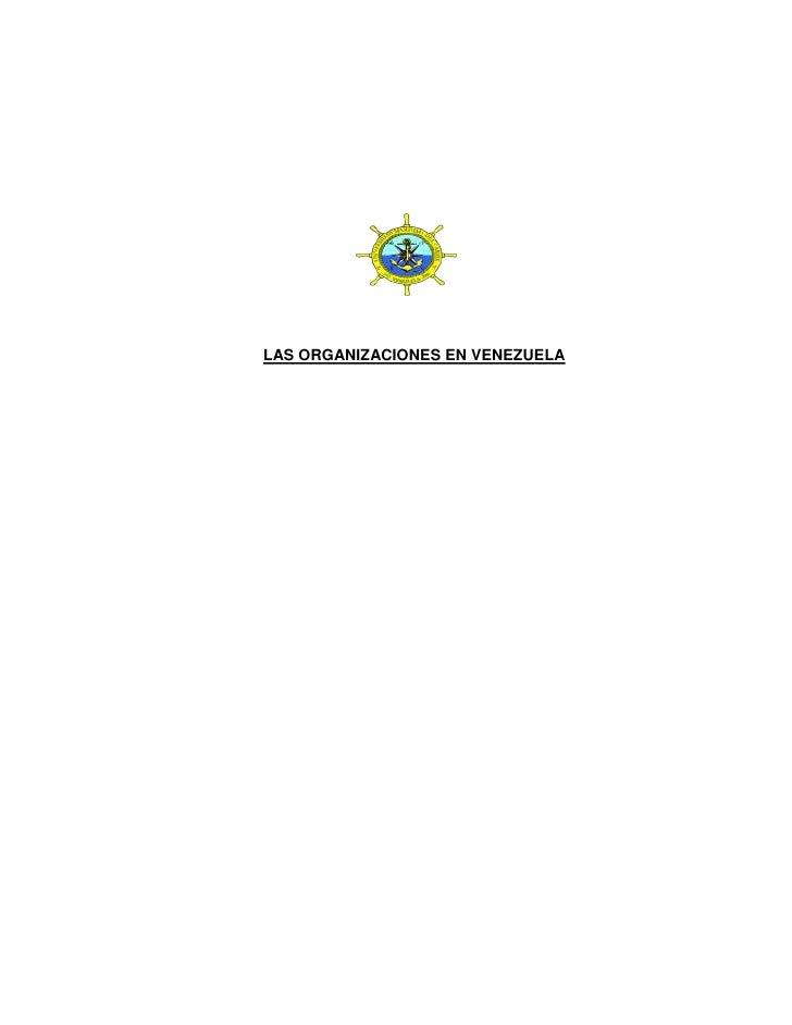 organizacion en venezuela