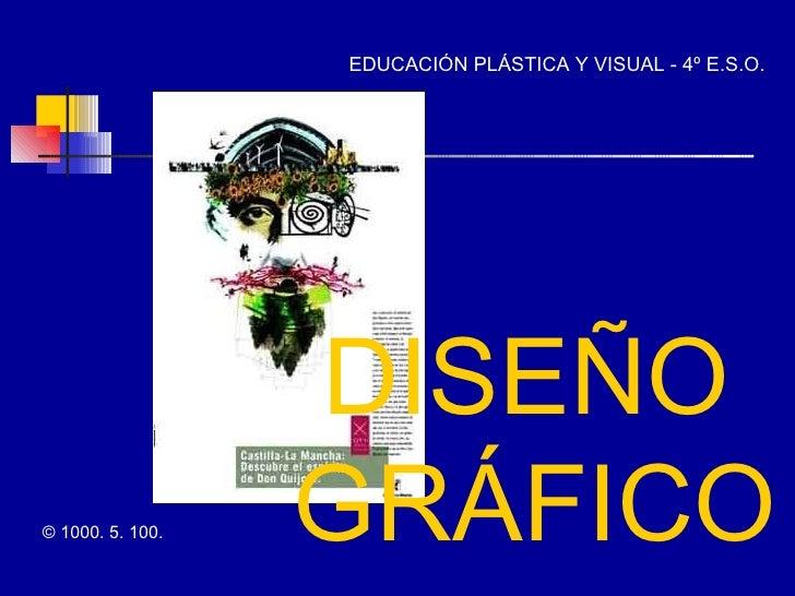 ©  1000. 5. 100. EDUCACIÓN PLÁSTICA Y VISUAL - 4º E.S.O. DISEÑO GRÁFICO