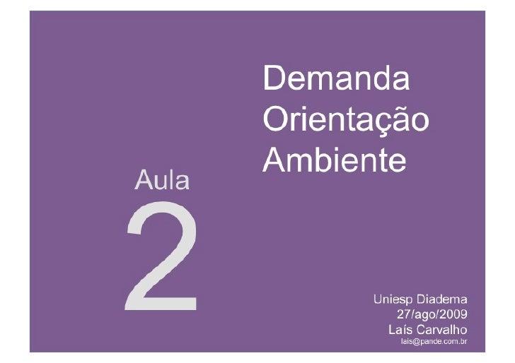 UNIESP CompMKT Aula 2