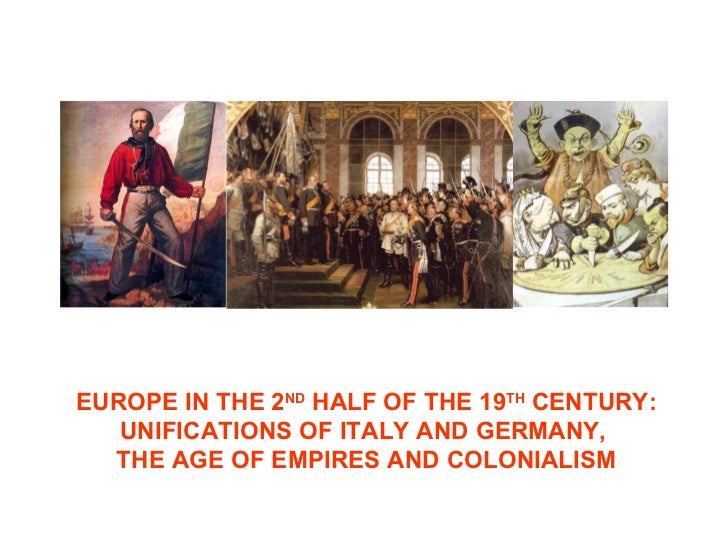Europe in the second half of the 19th century