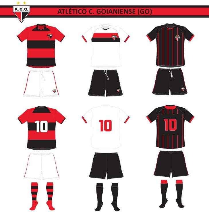 Uniformes da Série A 2012
