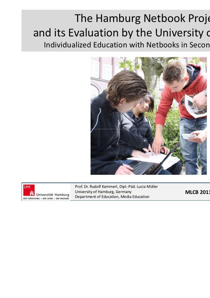 TheHamburgNetbookProjectanditsEvaluationbytheUniversityofHamburgand its Evaluation by the University of Hamburg...