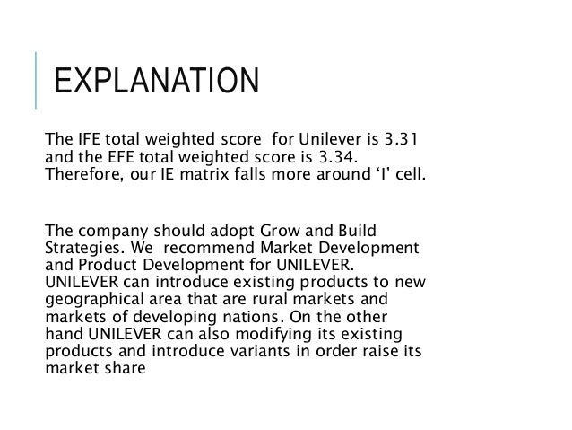 analyse and evaluation of unilever Page 1 of 31 unilever and its supply chain: embracing radical transparency to implement sustainability erica dhawan, elisha goodman, shayna harris, and.
