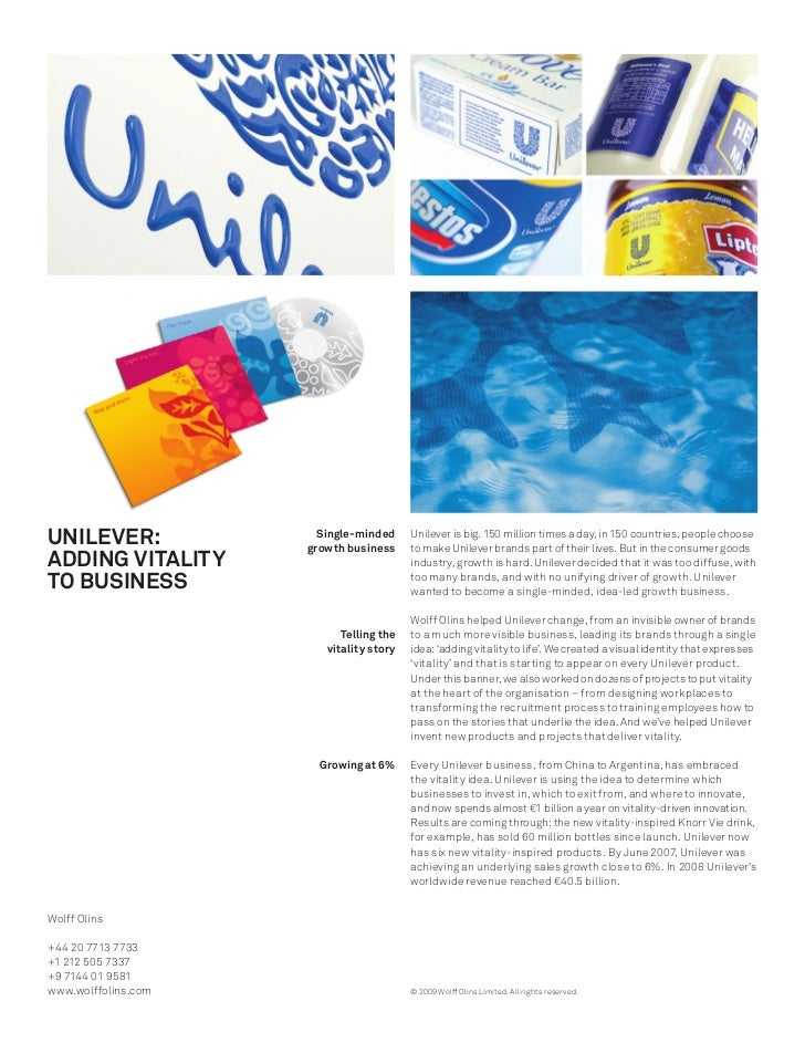 unilever case study analysis Mgt 6170-marketing, unilever in brazil case study table of contents 1 introduction.