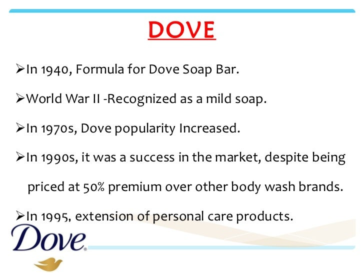 An analysis of Dove, Unilever