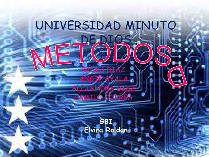 UNIVERSIDAD MINUTO      DE DIOS       PAOLA DIAZ      ANGIE AYALA    ALEJANDRA DIAZ     CAMILO CORREA           GBI      E...