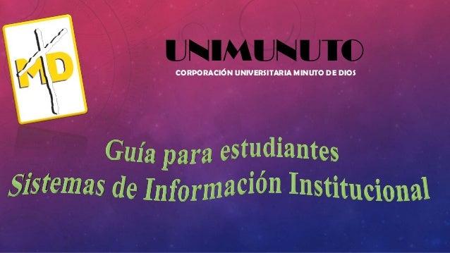 Unimunuto gestión de la información