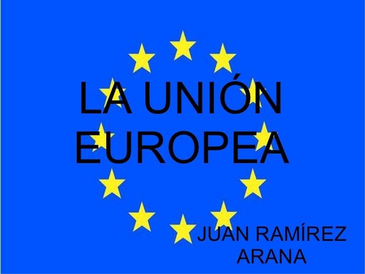 Unión europea  Juan