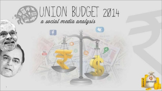 Union budget 2014 - A Social Media Analysis