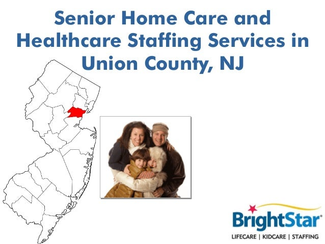 Senior Home Care and Healthcare Staffing Services in Union County, NJ