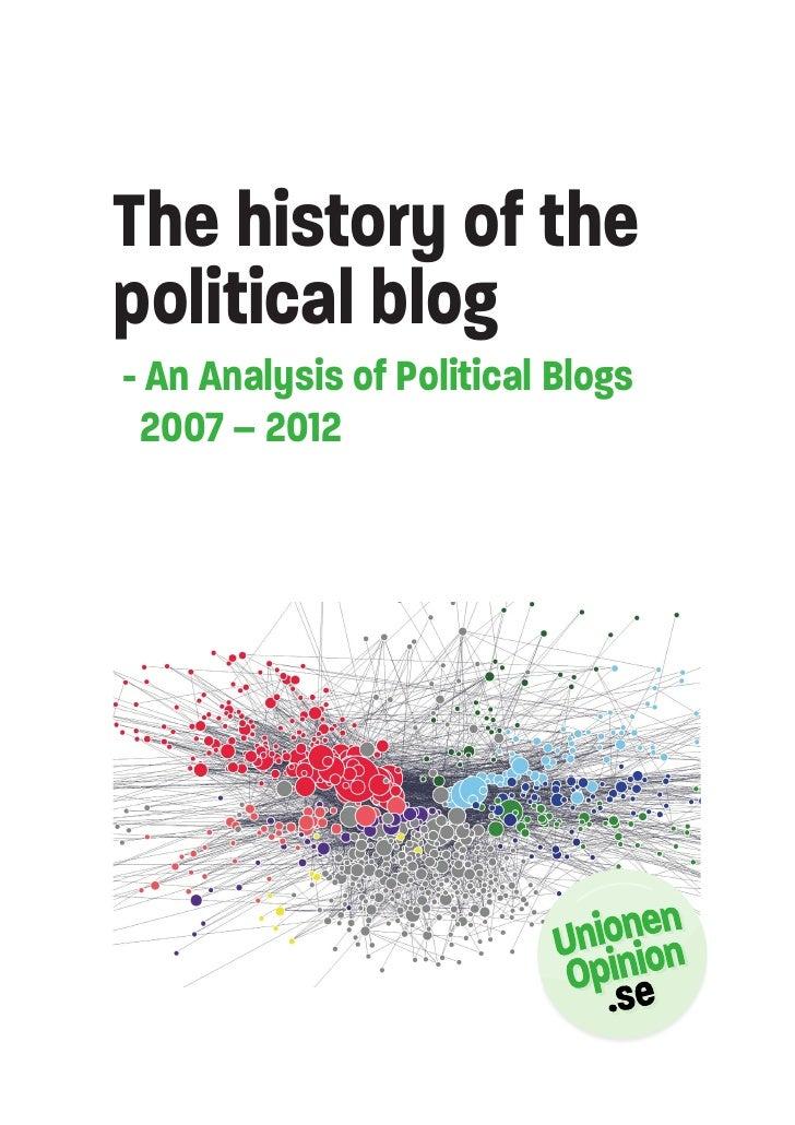Swedish blogosphere 2007-2012 english version