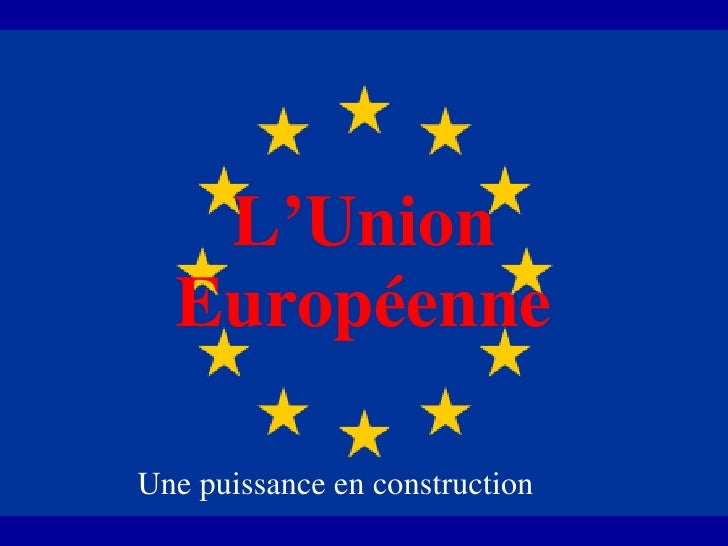 Union Europenne 2008