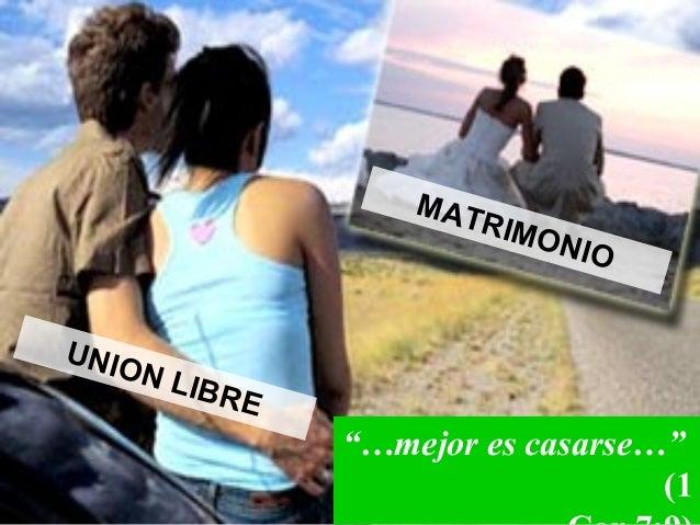 Matrimonio Union Libre : Union libre terminos