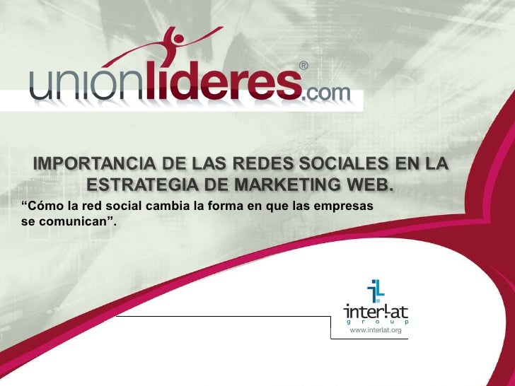 Unionlideres Ventures Redes Sociales