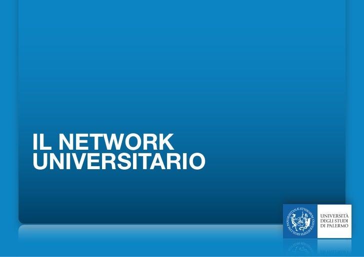 IL NETWORKUNIVERSITARIO