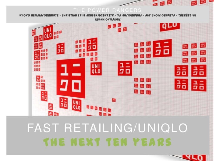 GM2010 - Fast Retailing/Uniqlo: The next 10 years