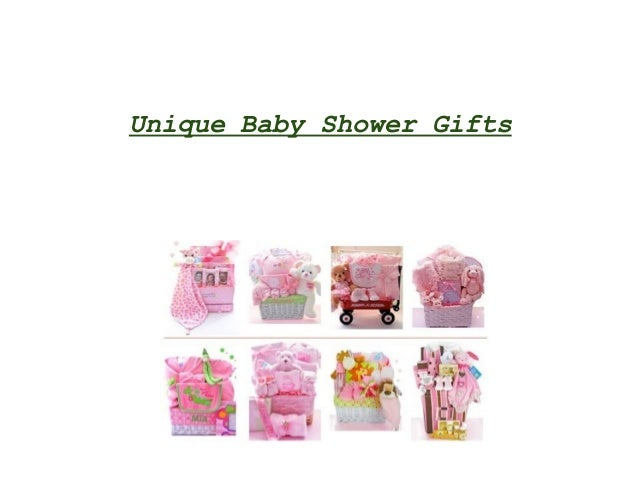 unique baby shower gifts
