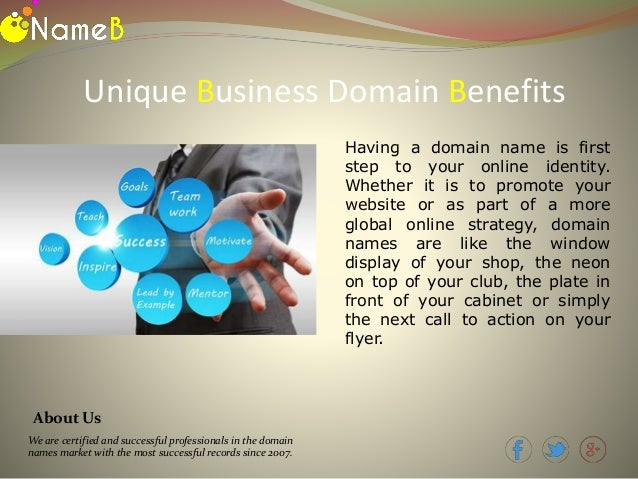 how to buy a business domain name