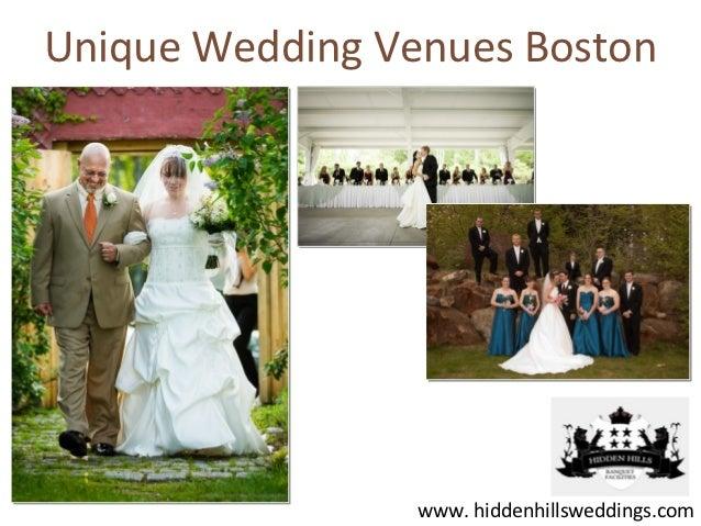 Unique Wedding Venues Boston                 www. hiddenhillsweddings.com