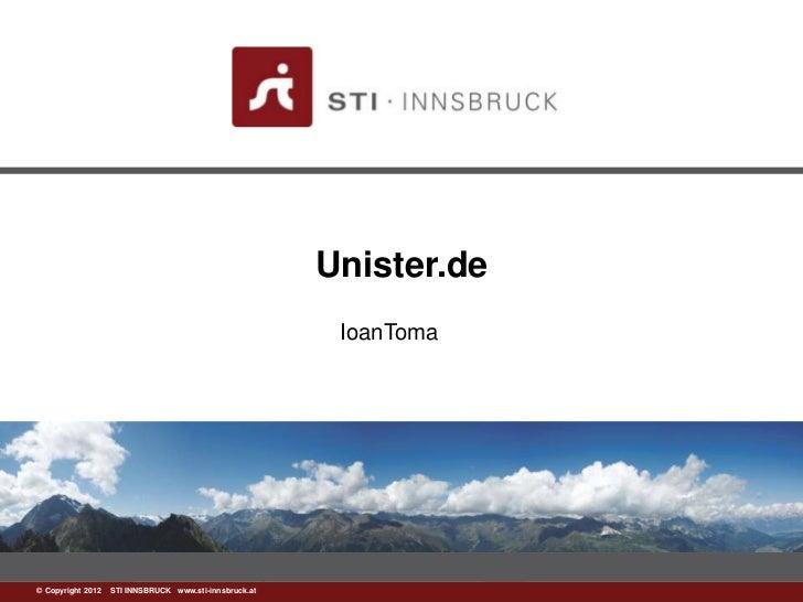 Unister.de                                                        IoanToma©www.sti-innsbruck.at INNSBRUCK www.sti-innsbruc...