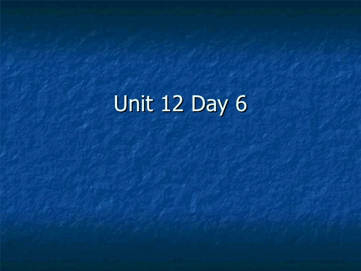 CPM Geoemtry Unit 12 Day 6
