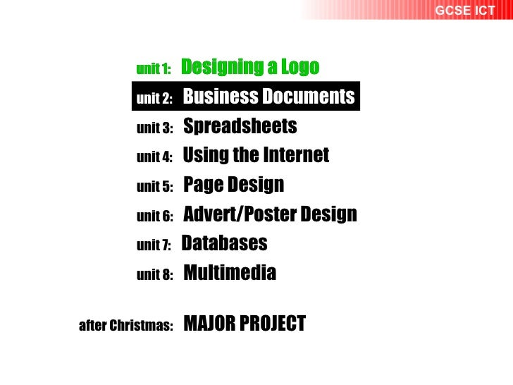 unit 1:   Designing a Logo unit 2:   Business Documents unit 1:   Designing a Logo unit 2:   Business Documents unit 3:   ...
