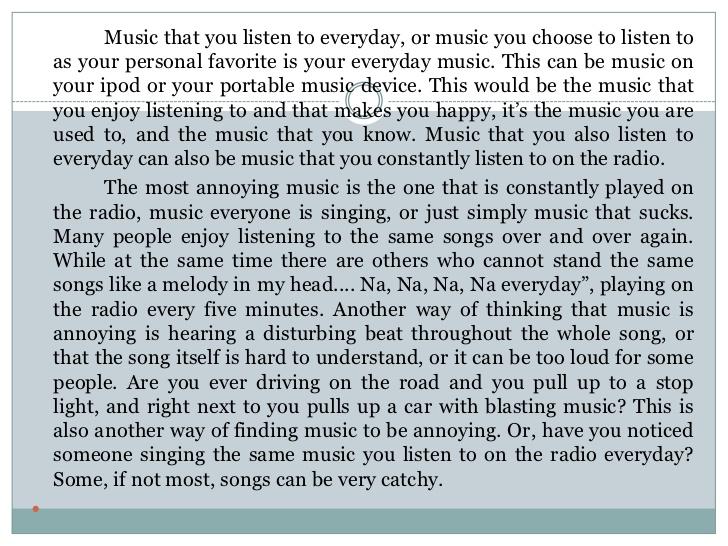 essay musical new understanding