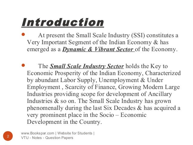 essay on small scale industries in india Pages in category small-scale industry in india the following 13 pages are in this category, out of 13 total ministry of small scale industries n.