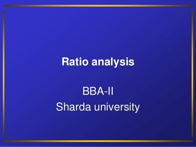 Ratio analysis by Neeraj Bhandari ( Surkhet.Nepal )