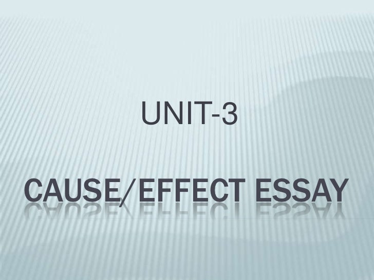 Cause and effect essay on human diet