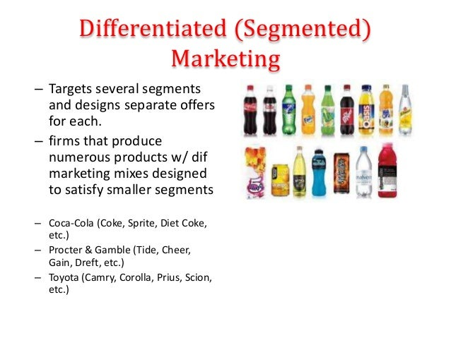 how does mass marketing and relationship differentiated