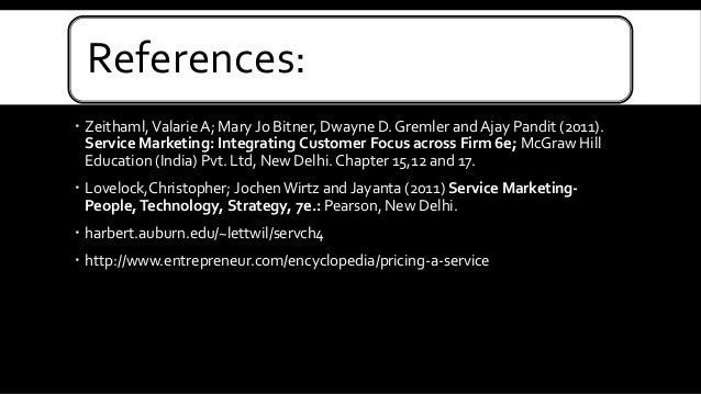 Integrated Service Service Marketing Integrating