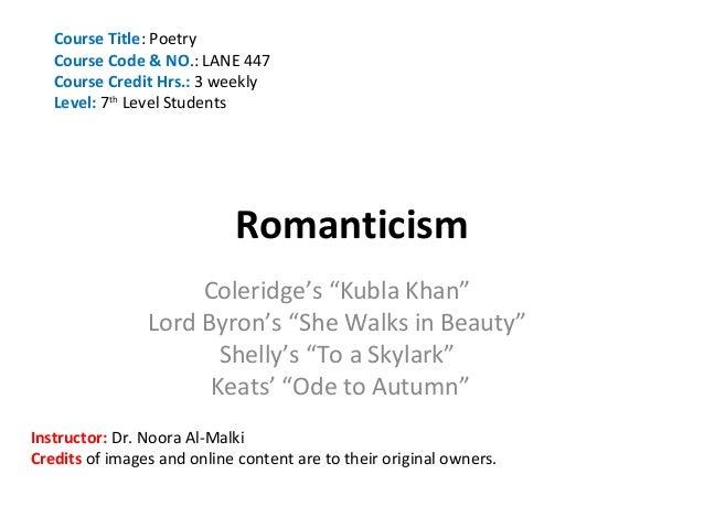 Unit 5-Romanticism