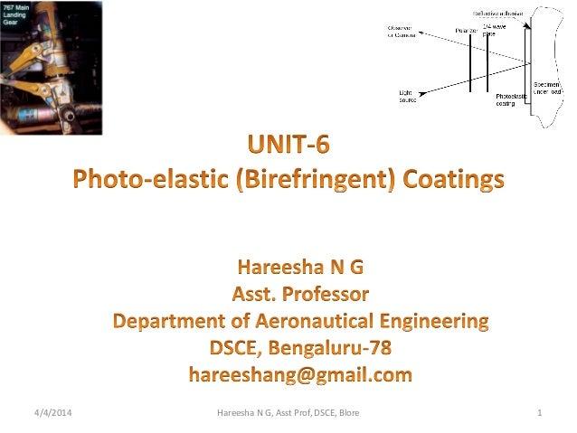 4/4/2014 Hareesha N G, Asst Prof, DSCE, Blore 1