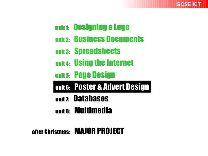 unit 1:   Designing a Logo unit 2:   Business Documents unit 1:   Designing a Logo unit 2:   Business Documents unit 3:   ...