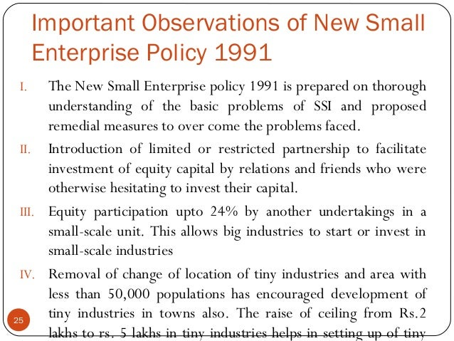 introduction to small scale industries 1 relative efficiency of modern small scale industries in india: an inter-state comparison hiranya k nath southern methodist university i introduction.