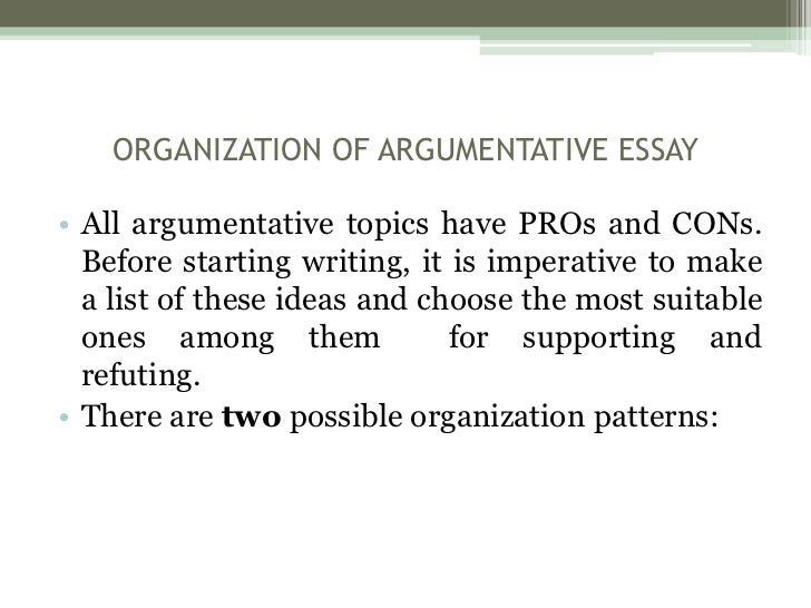 topics of argumentative essay These forty statements may be either defended or attacked in an argumentative essay or speech.