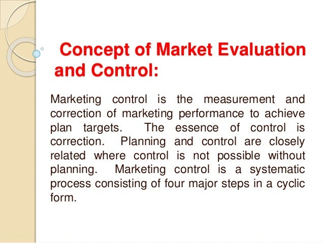 concept of marketing evaluation The marketing concept can be defined as the philosophy that an organisation should try to provide products that satisfy customers' needs through a co-ordinated set of activities that also allows the organisation to achieve its goals2 the marketing concept is the idea that to be successful the organisation should focus on meeting customer needs - the customer is king.