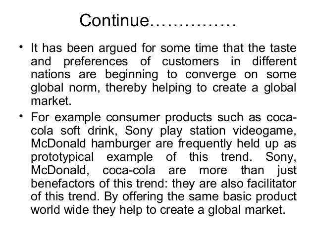geocentric mcdonalds Staffing of multi national enterprise which approach is most effective 1 either- geocentric , polycentric, or ethnocentric geocentric approach, and why.