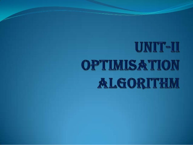 I. OPTIMIZATION PROBLEM Learning Objectives:  Ability to formulate a linear program.  Ability to represent graphically t...