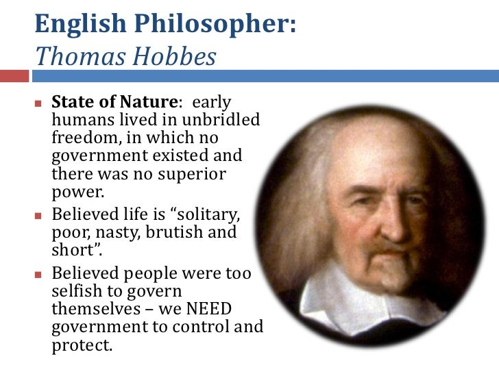 an analysis of the political theories of thoas hobbes and john locke