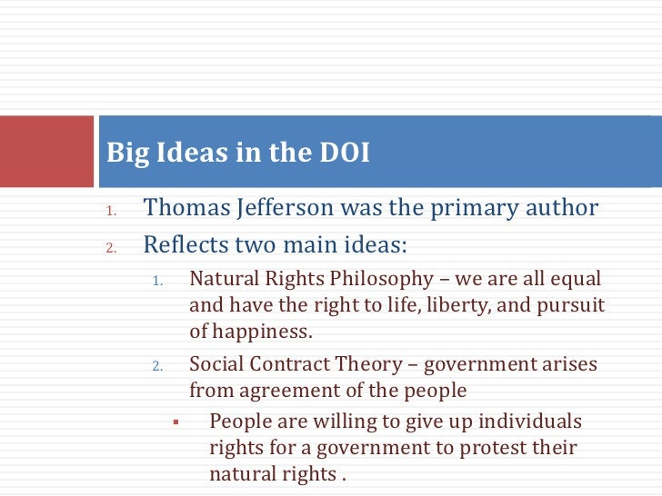 the idea of natural rights a The concept of what are natural rights has varied throughout history the idea first came up in ancient times.
