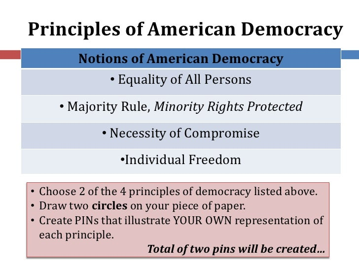american democracy the ideal style of Read this essay on democracy in america what does american democracy mean in a perfect sensing world ideal of perfect democracy could be described as.