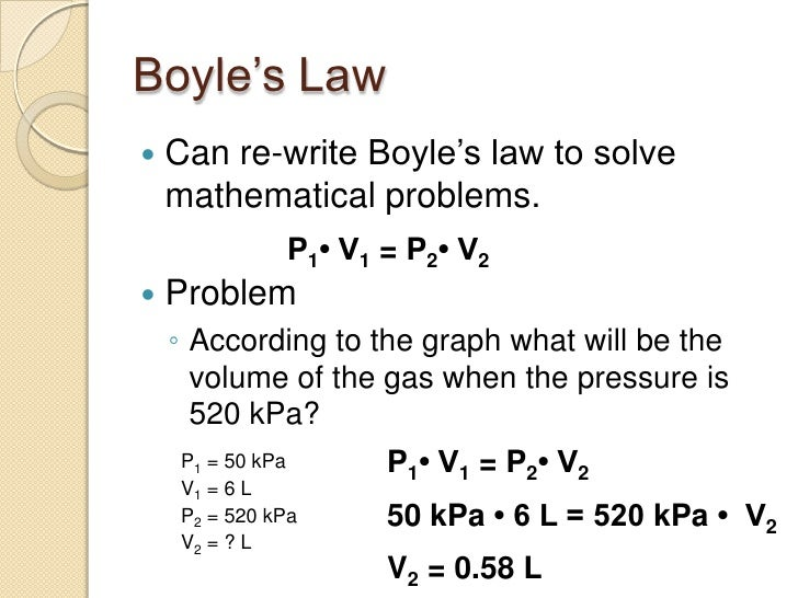 boyle s sample problems Boyle's law worksheet this problem is solved by what is the final volume of a 4000 ml gas sample that is subjected to a temperature change from.