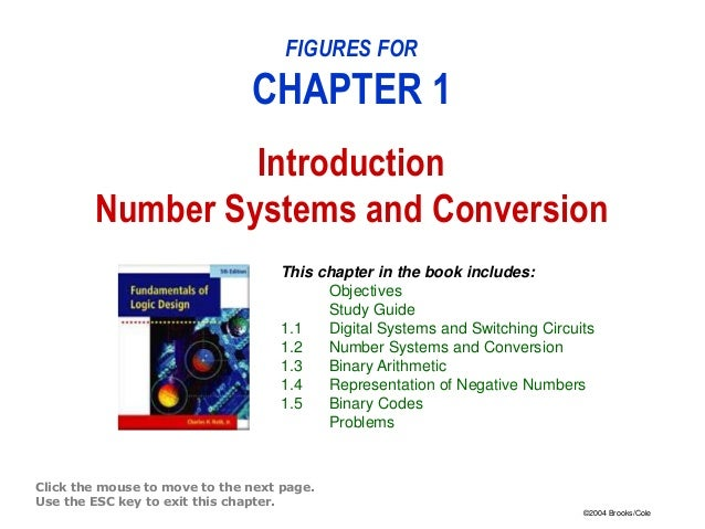 Introduction number systems and conversion